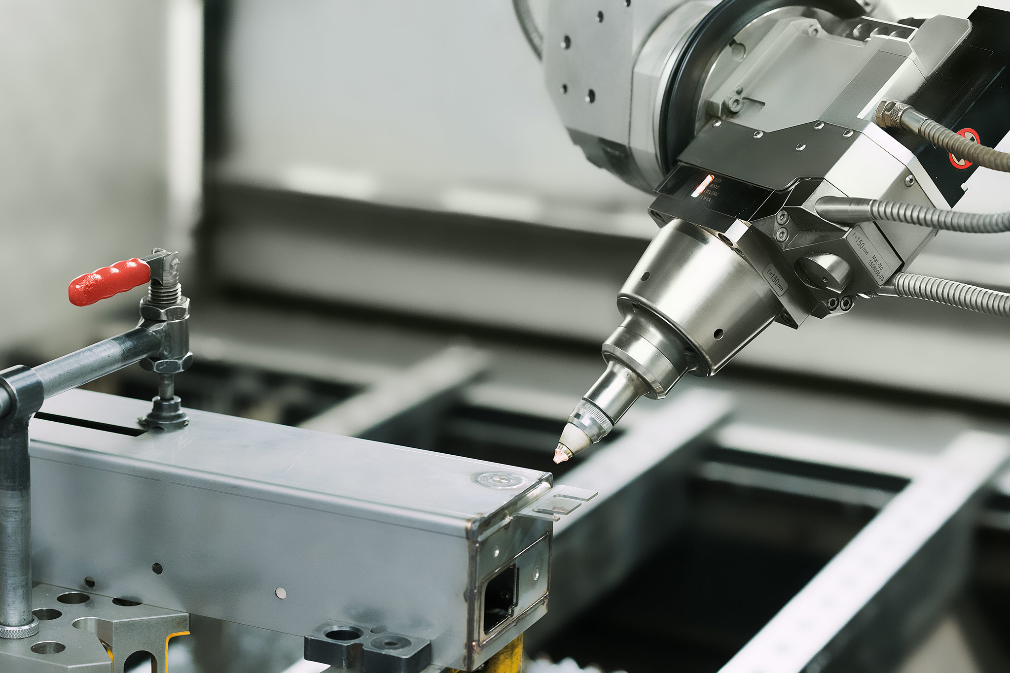 Laserschweißkopf Lasertechnik Wilhelm Honebein Maschinen- und Gerätebau GmbH