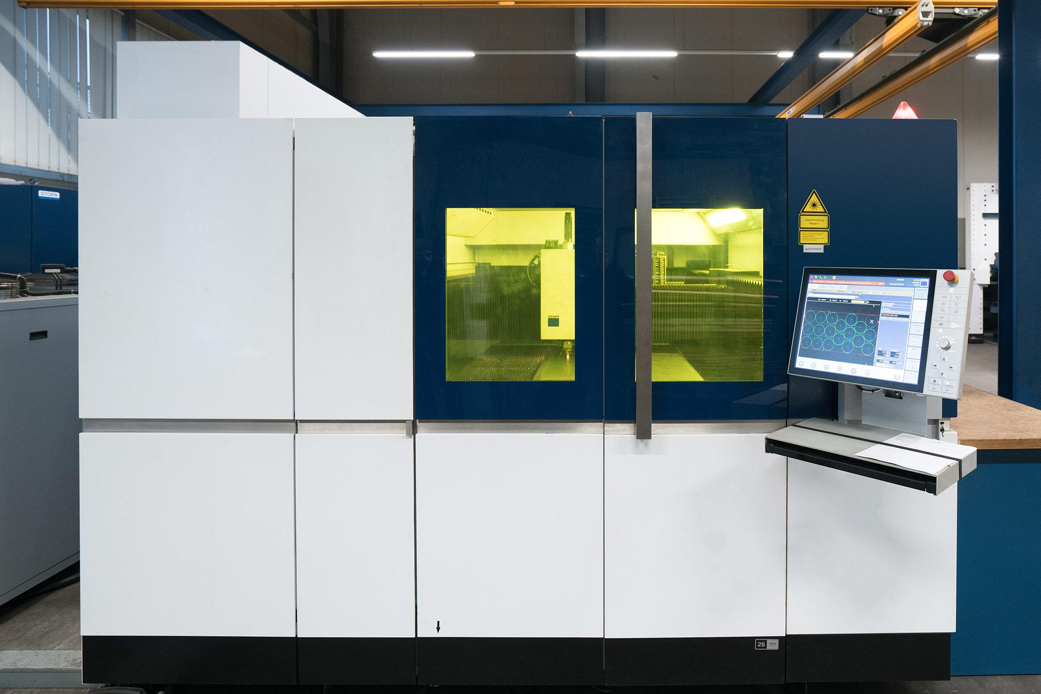 Trumpf Fiber Laser Wilhelm Honebein Maschinen- und Gerätebau GmbH